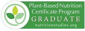 Catherine Higgemeier, author of The Plant to Plate Cookbook - Plant Based Nutrition Certification Graduate